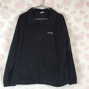 Columbia Fleece Black Mountain Jacket Size 3X